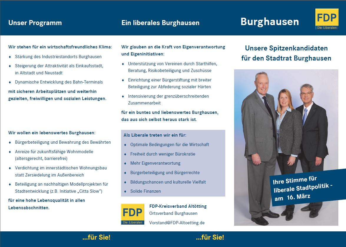 Flyer Burghausen